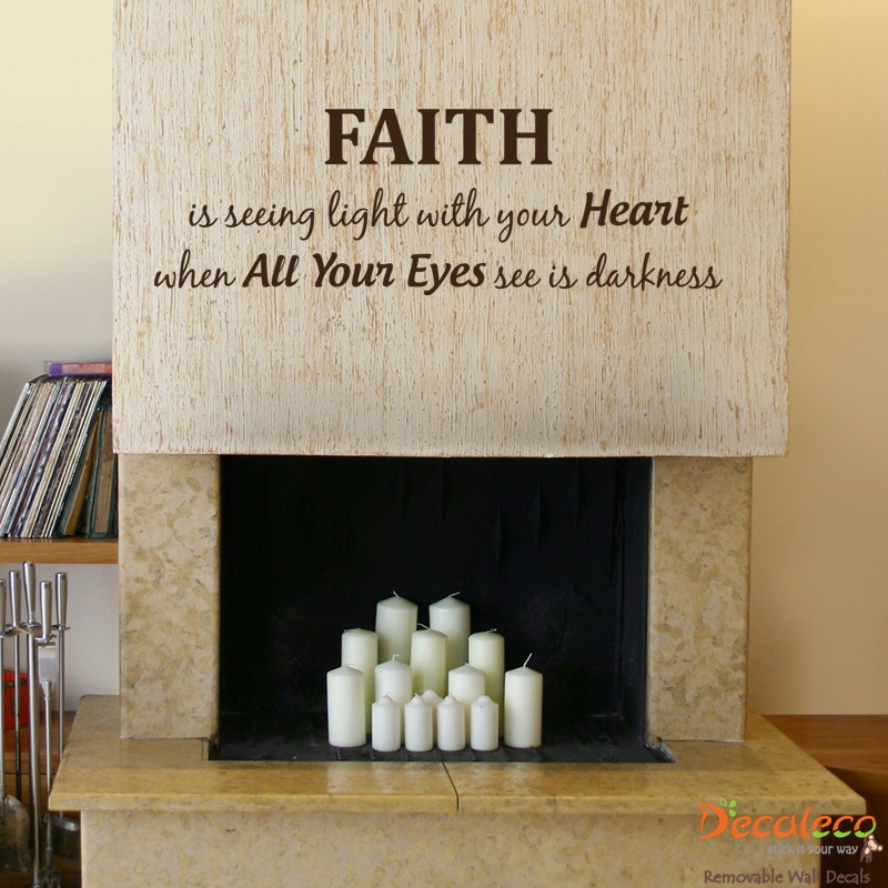 Faith Wall Quote