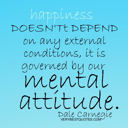 Happiness Quotes – Happiness doesn't depend on any external