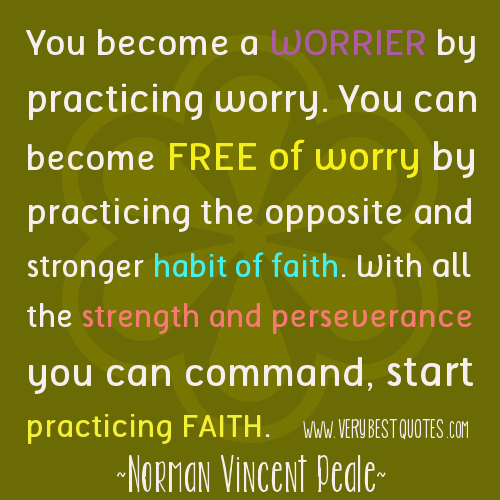 Start Practicing Faith Quotes, Norman Vincent Peale quotes