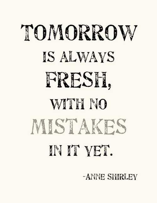anne shirley, phrases, tomorrow, hope, quotes - image #782704 on
