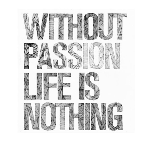 Life Passion Quotes Without Passion Life Is Nothing
