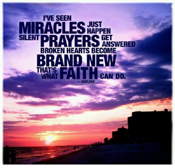 Quotes & Sayings & Phrases » Miracle Quotes