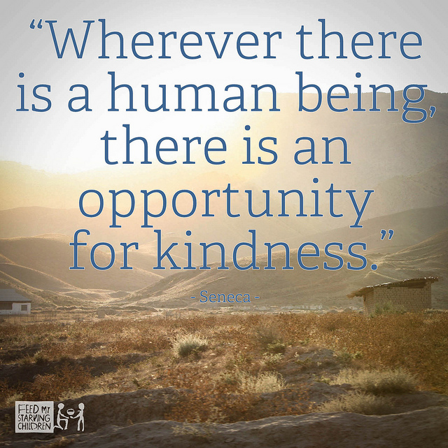 Quotes - Opportunity for Kindness | Flickr - Photo Sharing