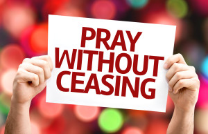 pray without ceasing image